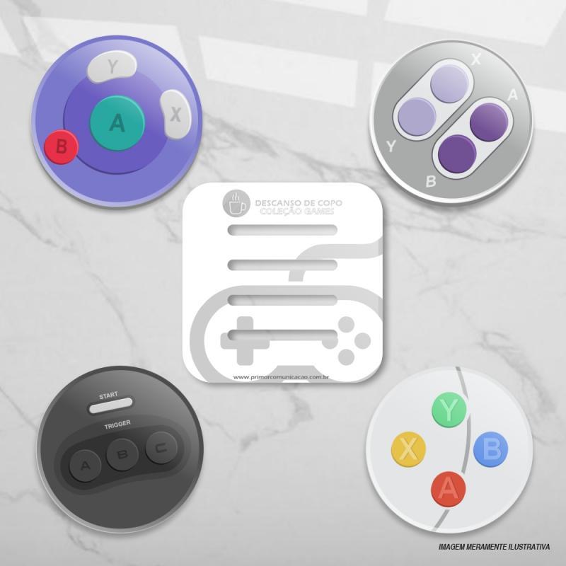 Descanso de Copo - Games 1
