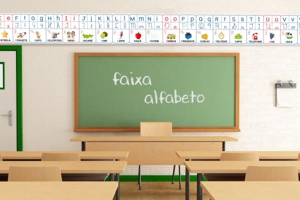 Lona Escolar Alfabeto