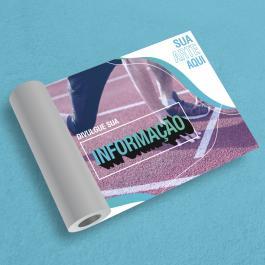Lona Impressa Personalizada 340g/440g  4x0