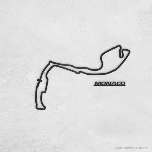 PISTA DE CORRIDA INTERNACIONAL: MONACO Acrílico 3mm     Fita Dupla Face